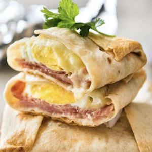 Ham, Egg & Cheese Pockets